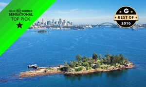 Sydney Harbour Discovery: From $39 (+$7 Park Entry Fee) for a 3-Hour Shark Island Cruise and BBQ with Sydney Harbour Discovery (From $89 Value)