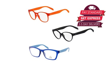 $19 for Calvin Klein Colourthin Glasses in Choice of Model and Colour (Don't Pay up to $189)