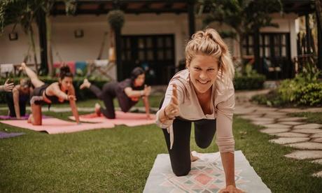Bis zu 61 Prozent Rabatt auf Yoga bei be happy YOGA| Kirsten Schneider Handynummer - 017624893418 (Onlinekurs)