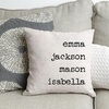 Up to 80% Off Personalized Family Name Throw Pillow Covers