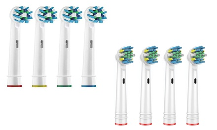 Toothbrush Heads Compatible with Oral-B: 8 ($12.95) or 16 ($19.95) (Don't Pay Up To $156.40)