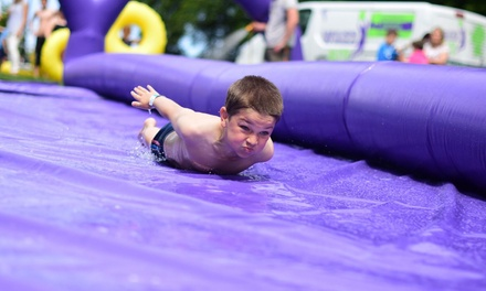 Slip and Slide Mat and Nerf Arena Festival Entry for One or Two at WhizzFit (Up to 33% Off)