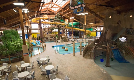 Stay at Timber Ridge Lodge & Waterpark in Lake Geneva, WI. Dates into June.