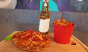 Vandal: Pizza with Sides and Optional Dips Plus Beer Each for Two or Four at Vandal