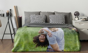 Up to 84% Off Personalized Fleece Photo Blanket