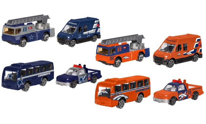 Up To 20% Off on NFL Die Cast Cars (4-Pack)  cda360154