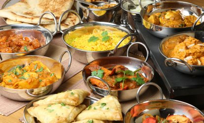 Two-Course Indian Meal with Rice or Naan for Two or Four at Desi Dhabaa at the Russell Court Hotel (Up to 60% Off)