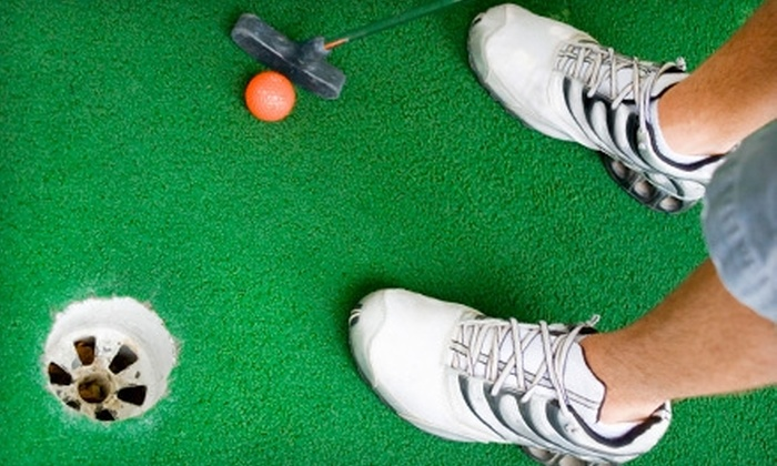 Scenic City MiniGolf - Downtown Chattanooga: $9 for $20 Worth of Indoor Mini Golf and Blue Bell Ice Cream at Scenic City MiniGolf