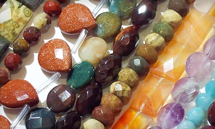 3 Beads & A Button - San Jose: $15 for $30 Worth of Jewelry-Making Items, Buttons, and Beading Materials at 3 Beads & A Button in Cupertino