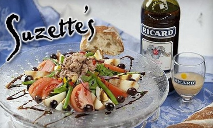 Suzette's Creperie - Chicago: $20 for $40 Worth of French Fare and Wine at Suzette's Creperie