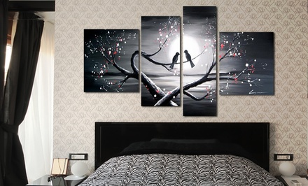 groupon daily deal - Paintings, Sculptures, and Wall Art from FabuArt.com (61% Off). Two Options Available.