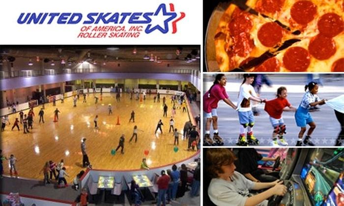 United Skates of America, Inc. - Wellswood: $9 for Three All-Access Passes to United Skates of America