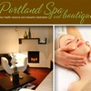 Half Off at Portland Spa and Boutique