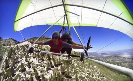 Thermal Sky Sports: Tandem Hang Gliding Flight and Picture Package - Thermal Sky Sports in Reno