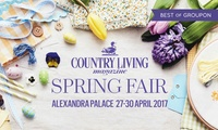 One or Two Tickets to Country Living Magazine Fair, 27-30 April 2017 at Alexandra Palace, London (Up to 53% Off)
