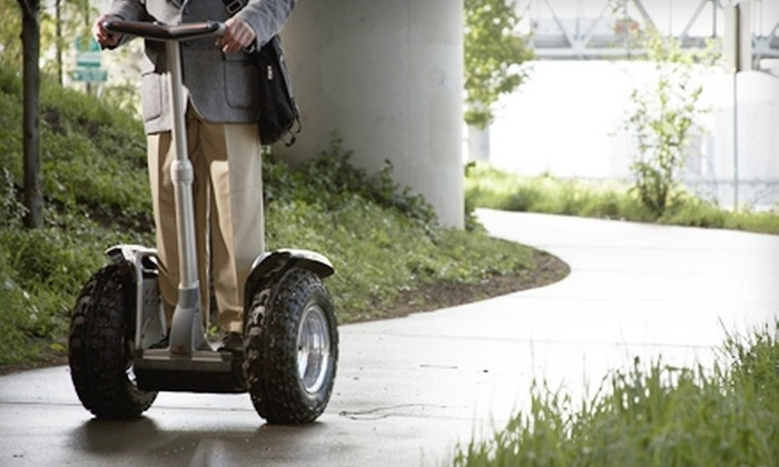 Electric Transport - Downtown: $25 for a Downtown Segway Tour with Electric Transport (Up to $60 Value)