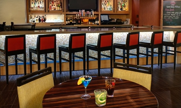 Gather Food & Drink - Lloyd District: $12 for $25 Worth of Upscale, Seasonal American Fare at Gather Food & Drink in the DoubleTree by Hilton Hotel Portland