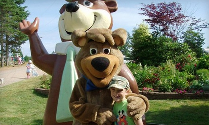 Yogi Bear's Jellystone Park - Kingston: Two-Night Campsite Rental at Yogi Bear's Jellystone Park in Kingston. Two Options Available.