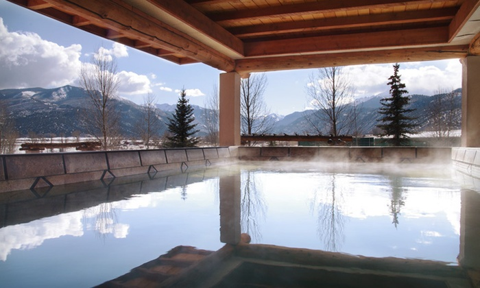 Chipeta Solar Springs Resort & Spa - Ridgway, CO: Two- or Five-Night Stay with Optional Skiing-or-Massage Packages at Chipeta Solar Springs Resort & Spa in Southwest Colorado. Six Options Available.