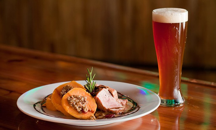 Lexington Avenue Brewery - Downtown Asheville: $12 for $20 Worth of Gourmet Pub Food for Dinner or Lunch at Lexington Avenue Brewery