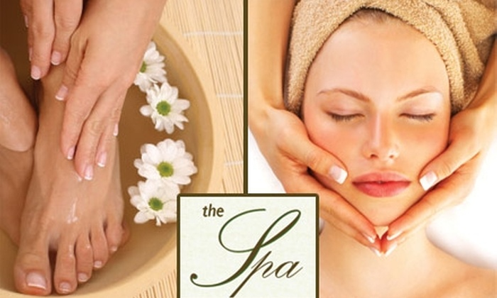 The Spa - Tulsa: $25 for Your Choice of Serenity Manicure, Serenity Pedicure, or Dermalogica Full Facial at The Spa