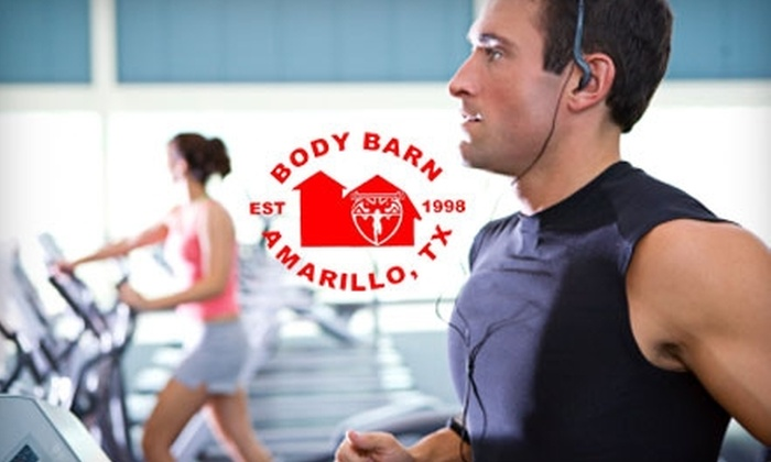 The Body Barn - Amarillo: $60 for Four One-Hour Personal-Training Sessions and an Initial Consult at The Body Barn ($225 Value)