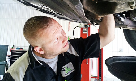 Auto Maintenance at Next Level Transmission and Automotive Repair (Up to 62% Off). Three Options Available.