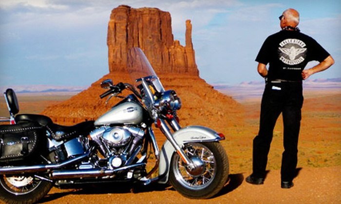 EagleRider - Paradise: $99 for an All-Day Motorcycle-Rental Package from EagleRider in Las Vegas (Up to $199 Value)