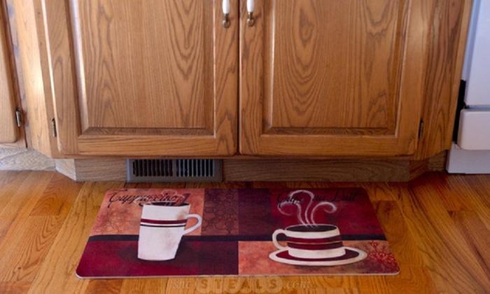 Fashion Comfort Anti-Fatigue Kitchen Mats (2-Pack) | Groupon