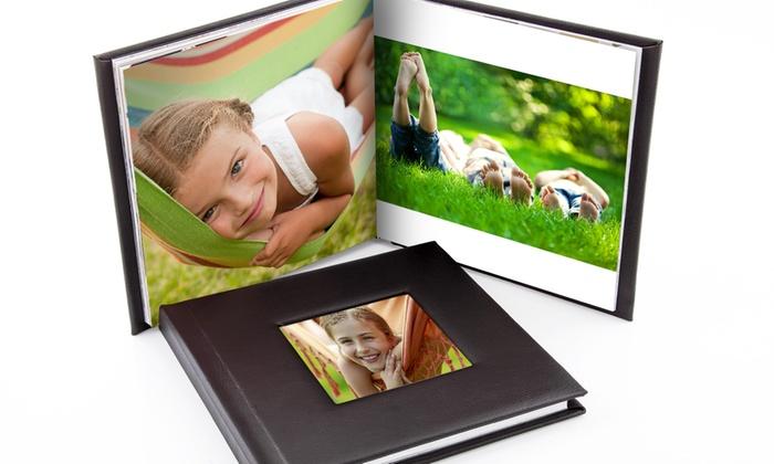 Printerpix (BE): Album photo en cuir A5 et A4 de 20, 40 ou 60 pages à partir de 9,99 €