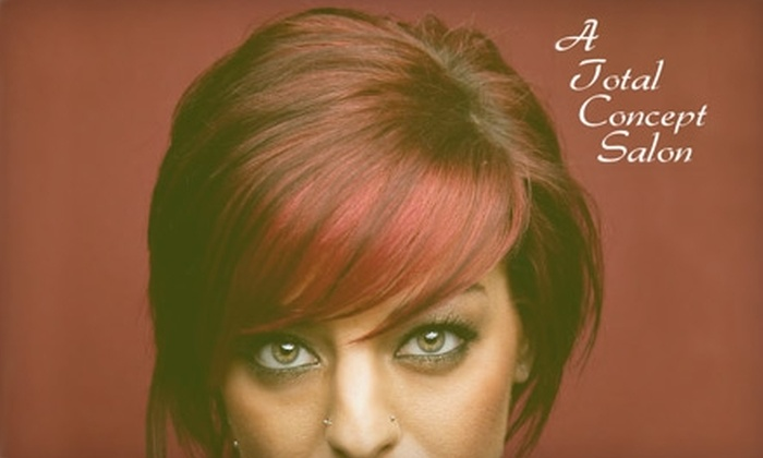 A Total Concept Salon - Federal Way: $50 for $110 Worth of Any Salon Services at A Total Concept Salon
