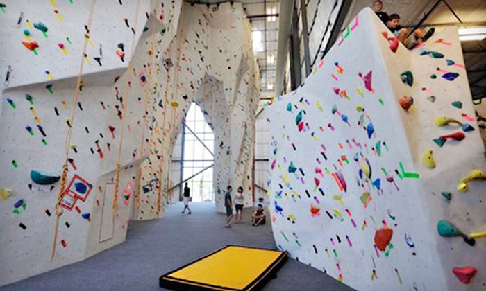 MetalMark Climbing & Fitness - McLane: Climbing Class for Two or One-Month Membership at MetalMark Climbing & Fitness
