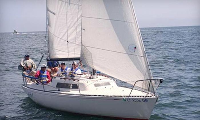 Pacific Sailing - Santa Cruz: $115 for a Two-Day Introductory Sailing Course at Pacific Sailing in Santa Cruz ($230 Value)