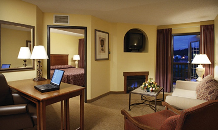The Lodge at Sierra Blanca - Ruidoso: Two Nights in a Double-Queen Room or King Suite with Breakfast at The Lodge at Sierra Blanca in Ruidoso (Up to 58% Off)