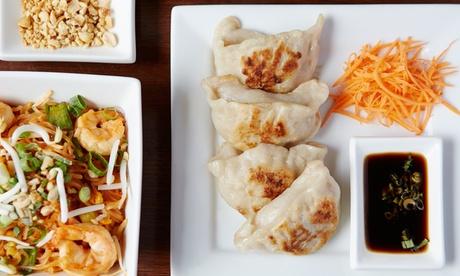 Menú de cocina filipina para 2 o 4 personas con 3 platos, postre y bebida desde 14,95 € en Casa Bora
