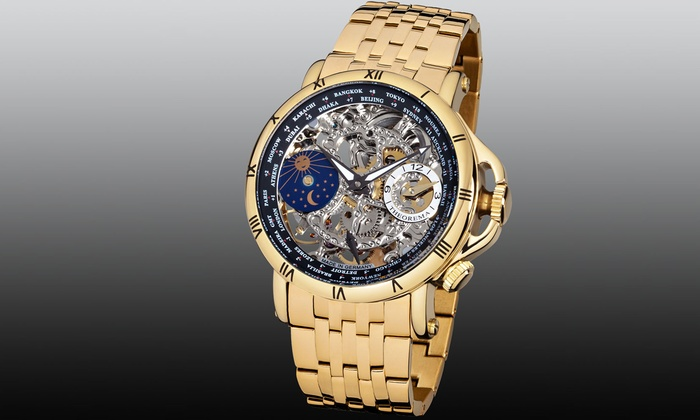 Groupon Goods Global GmbH: Men's Theorema Sao Paolo Watch for €244.99 With Free Delivery