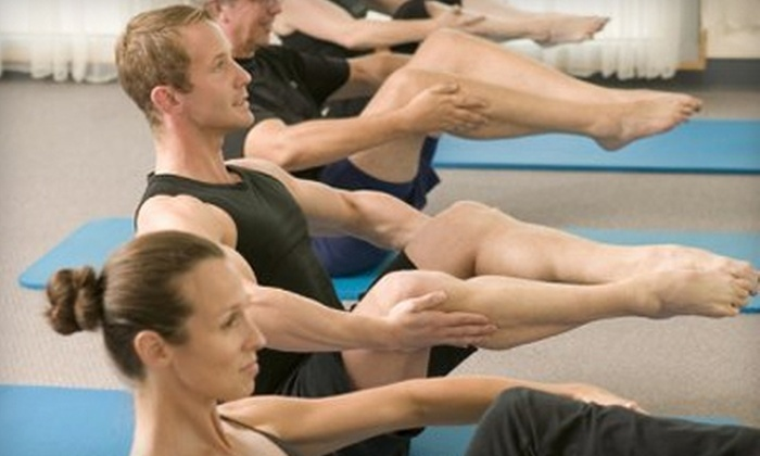 Pendleton Pilates - Multiple Locations: $30 for Five Mat or Ball Classes at Pendleton Pilates ($60 Value)