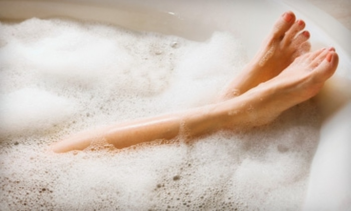 Blue Nile Spa - Grand Center: $45 for a Seaweed Bath and Detox Body Wrap at Blue Nile Spa ($90 Value)