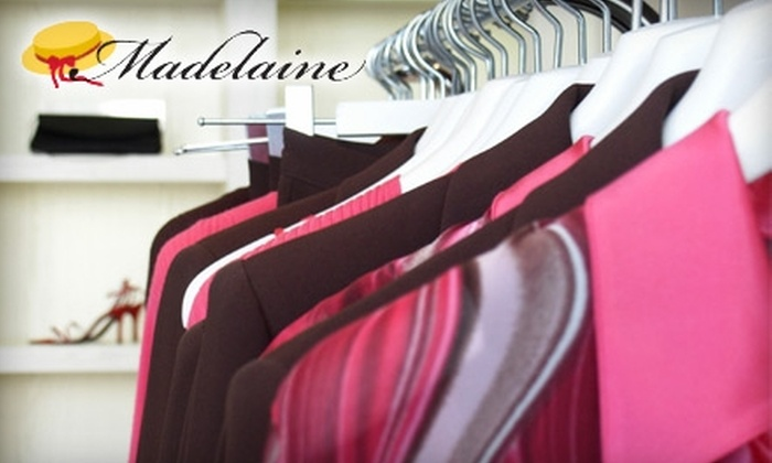Madelaine Cleaners - Ocean Parkway: $15 for $30 Worth of Environmentally Friendly Dry Cleaning at Madelaine Cleaners