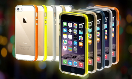 1 o 2 carcasas luminosas LightUp para iPhone disponibles en diferentes colores