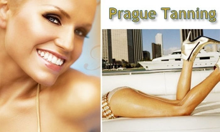 Prague Tanning - Central Business District: $23 Full-Body Airbrush Tan From Prague Tanning ($45 Value)