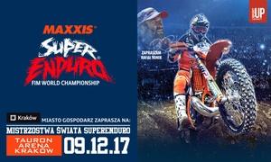 SuperEnduro: Od 69 zł: bilet na wydarzenie Mistrzostwa Świata SuperEnduro w TAURON Arenie Kraków (do -30%)
