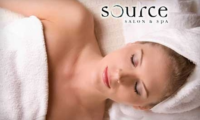 Source Salon & Spa - Adams: $35 for $75 Worth of Mani-Pedis, Facials, Body Wraps, Waxings, and More at Source Salon & Spa