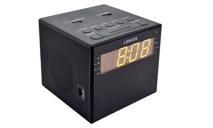 $29 for an Alarm Clock Radio with Charger CRU94 Don't Pay $89