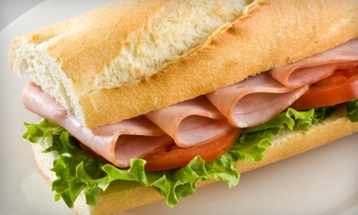 New York Pizza & Deli - Euless: $6 for $12 Worth of Pizza, Sandwiches, Desserts, and More at New York Pizza & Deli in Euless