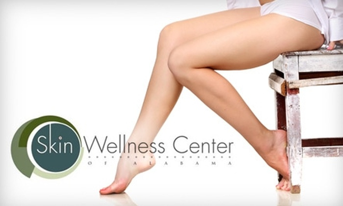 Skin Wellness Center of Alabama - Homewood: $99 for Three Laser Hair-Removal Sessions at Skin Wellness Center of Alabama (Up to $900 Value)