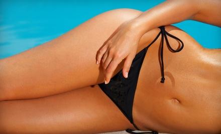 Full-Body Custom Airbrush Spray Tan (a $40 value) - Glow Sunfree Tanning and Waxing in Cincinnati