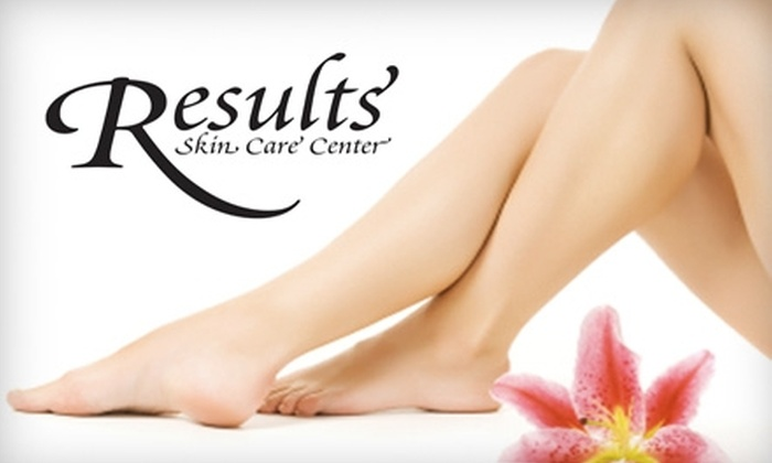 Results Skin Care Center - Metzger: $129 for Six Laser Hair-Removal Treatments In Any One Area from Results Skin Care Center in Tigard (Up to $1,375 Value)