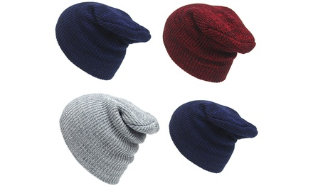 One or Two Unisex Knitted Winter Hats