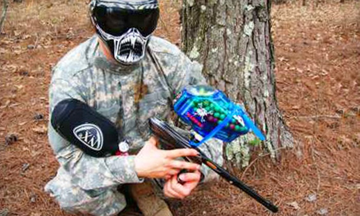 SledgeHammer Paintball - Buena Vista: $19 for a Full-Day Paintball Package at SledgeHammer Paintball in Buena Vista ($38 Value)